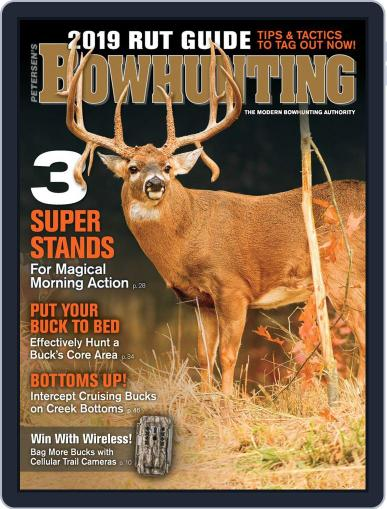 Petersen's Bowhunting November 1st, 2019 Digital Back Issue Cover