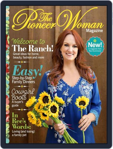 Pioneer Woman June 20th, 2017 Digital Back Issue Cover