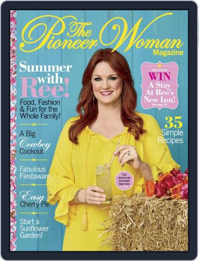 Pioneer Woman June 1st, 2018 Digital Back Issue Cover