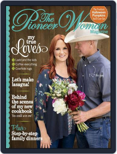 Pioneer Woman August 16th, 2019 Digital Back Issue Cover