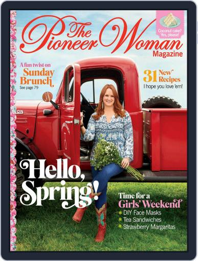 Pioneer Woman February 21st, 2020 Digital Back Issue Cover