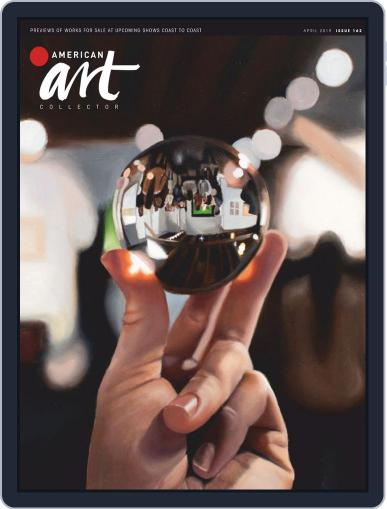 American Art Collector April 1st, 2019 Digital Back Issue Cover