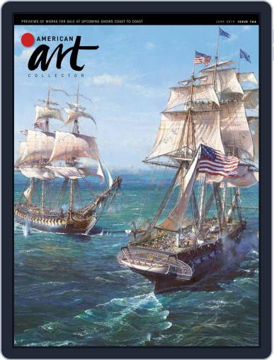 American Art Collector June 1st, 2019 Digital Back Issue Cover