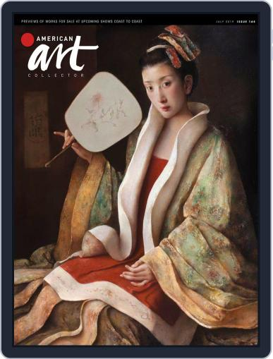 American Art Collector July 1st, 2019 Digital Back Issue Cover