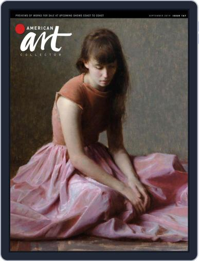 American Art Collector September 1st, 2019 Digital Back Issue Cover