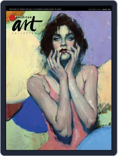 American Art Collector November 1st, 2019 Digital Back Issue Cover