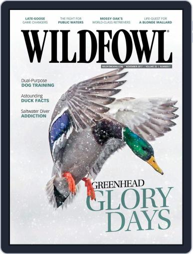 Wildfowl November 1st, 2017 Digital Back Issue Cover