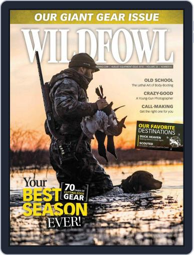 Wildfowl August 1st, 2018 Digital Back Issue Cover
