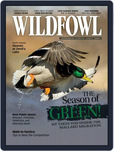 Wildfowl October 1st, 2018 Digital Back Issue Cover