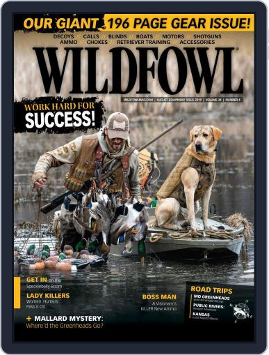 Wildfowl August 1st, 2019 Digital Back Issue Cover
