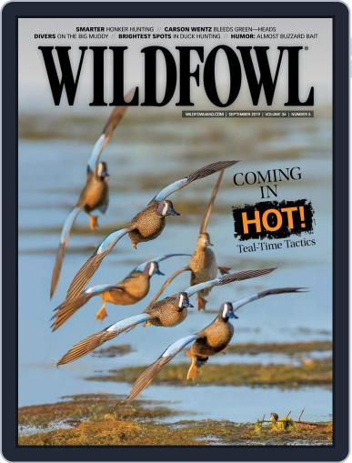 Wildfowl September 1st, 2019 Digital Back Issue Cover