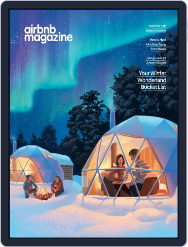 AirBnb December 1st, 2019 Digital Back Issue Cover
