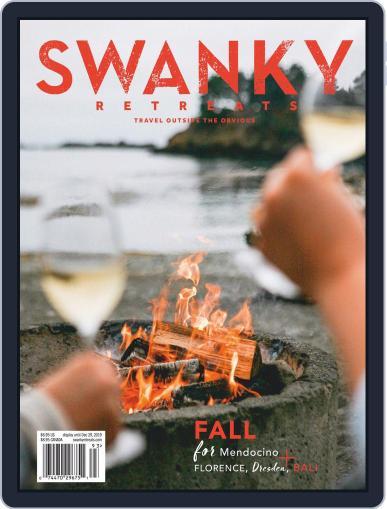 Swanky Retreats November 1st, 2019 Digital Back Issue Cover