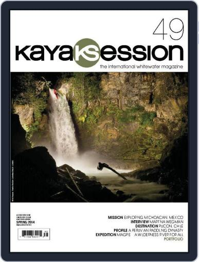 Kayak Session March 30th, 2014 Digital Back Issue Cover