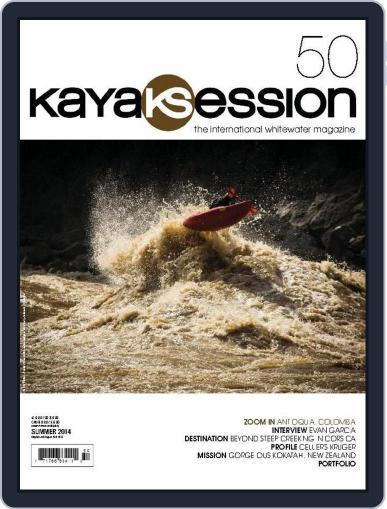 Kayak Session May 23rd, 2014 Digital Back Issue Cover