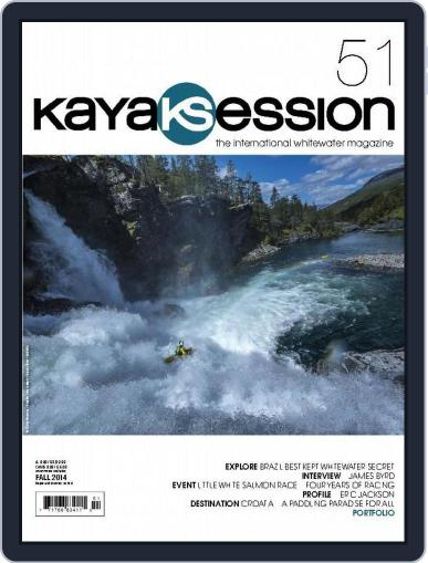 Kayak Session August 1st, 2014 Digital Back Issue Cover