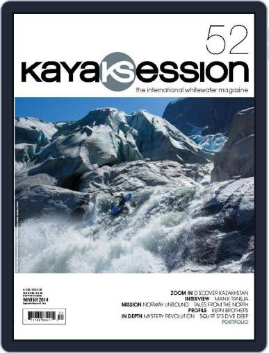 Kayak Session November 25th, 2014 Digital Back Issue Cover