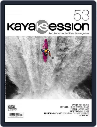 Kayak Session January 1st, 2015 Digital Back Issue Cover