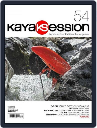 Kayak Session May 12th, 2015 Digital Back Issue Cover