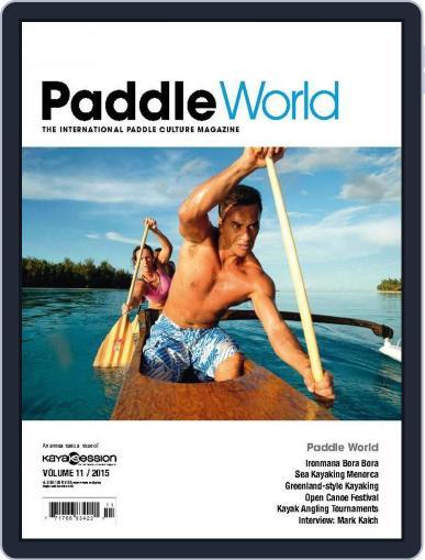 Kayak Session June 21st, 2015 Digital Back Issue Cover