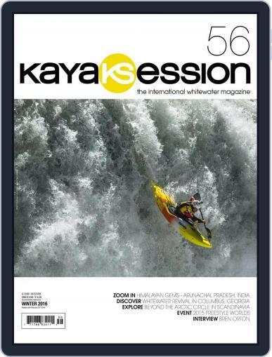 Kayak Session December 1st, 2015 Digital Back Issue Cover