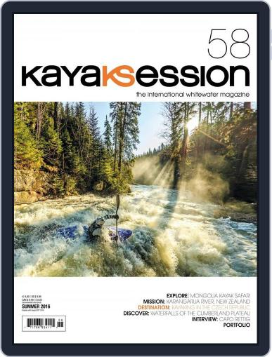 Kayak Session May 12th, 2016 Digital Back Issue Cover