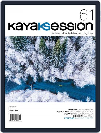 Kayak Session March 1st, 2017 Digital Back Issue Cover