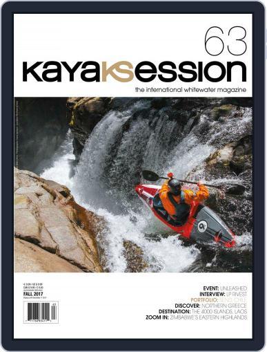 Kayak Session September 1st, 2017 Digital Back Issue Cover
