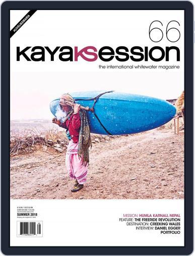 Kayak Session April 1st, 2018 Digital Back Issue Cover