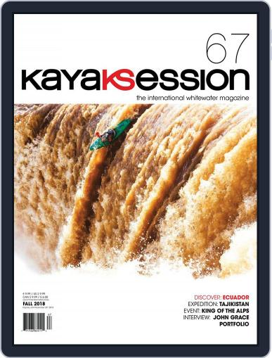 Kayak Session August 1st, 2018 Digital Back Issue Cover