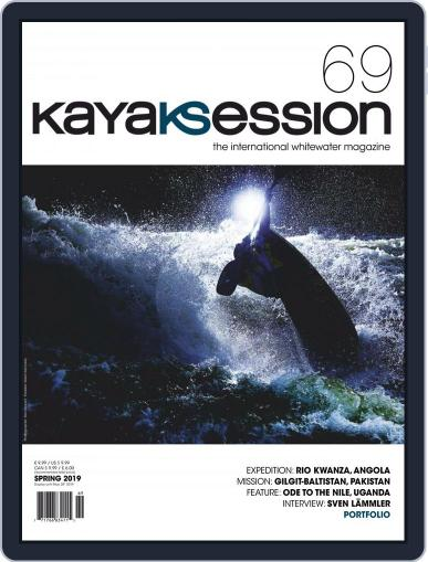 Kayak Session March 1st, 2019 Digital Back Issue Cover