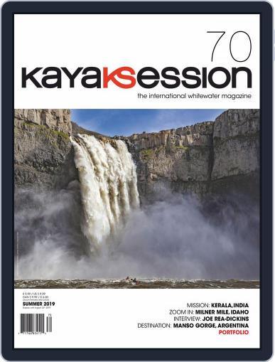 Kayak Session May 1st, 2019 Digital Back Issue Cover
