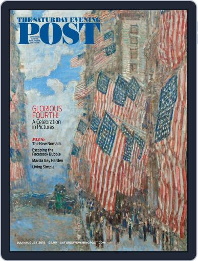 The Saturday Evening Post July 1st, 2018 Digital Back Issue Cover