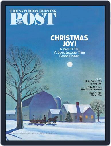The Saturday Evening Post November 1st, 2018 Digital Back Issue Cover