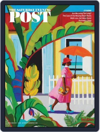 The Saturday Evening Post May 1st, 2019 Digital Back Issue Cover