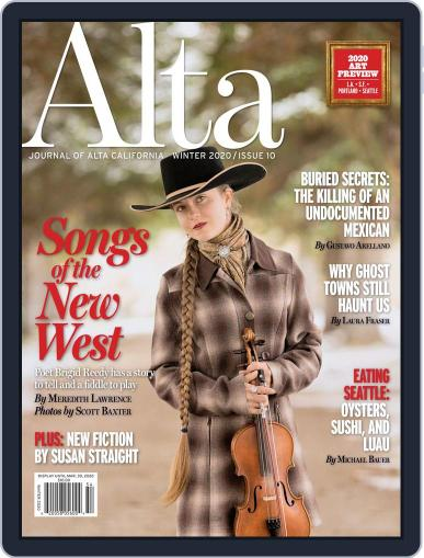 Journal of Alta California December 13th, 2019 Digital Back Issue Cover