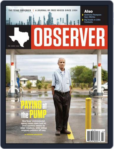 The Texas Observer February 1st, 2018 Digital Back Issue Cover