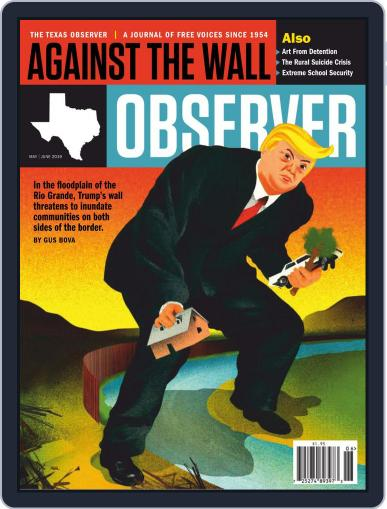 The Texas Observer May 1st, 2019 Digital Back Issue Cover