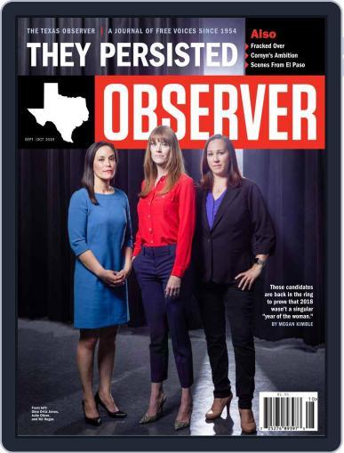 The Texas Observer September 1st, 2019 Digital Back Issue Cover
