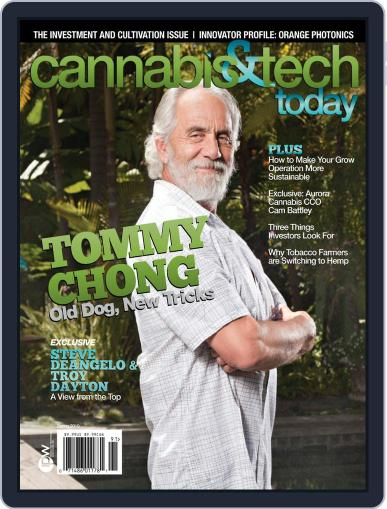 Cannabis & Tech Today April 1st, 2019 Digital Back Issue Cover