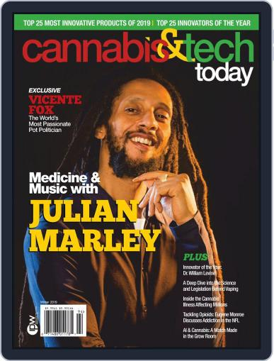 Cannabis & Tech Today December 1st, 2019 Digital Back Issue Cover