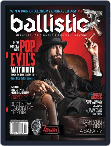 Ballistic April 1st, 2019 Digital Back Issue Cover