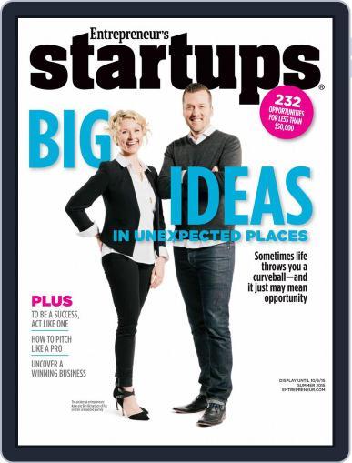 Entrepreneur's Startups June 2nd, 2015 Digital Back Issue Cover