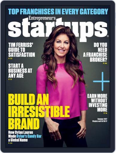 Entrepreneur's Startups April 1st, 2017 Digital Back Issue Cover