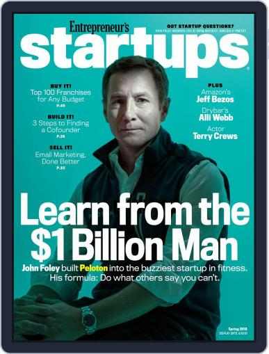 Entrepreneur's Startups March 1st, 2018 Digital Back Issue Cover