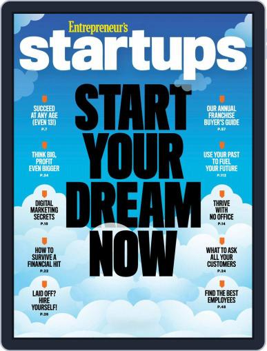 Entrepreneur's Startups October 1st, 2018 Digital Back Issue Cover
