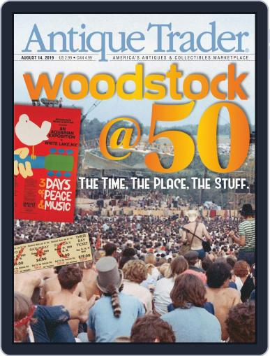 Antique Trader August 14th, 2019 Digital Back Issue Cover