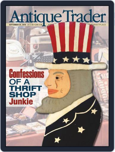 Antique Trader September 25th, 2019 Digital Back Issue Cover