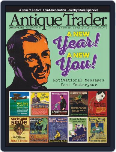 Antique Trader January 15th, 2020 Digital Back Issue Cover
