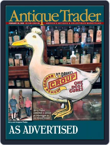 Antique Trader February 26th, 2020 Digital Back Issue Cover